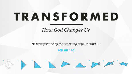 Cover Art for Transformed