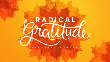 Cover Art for Radical Gratitude