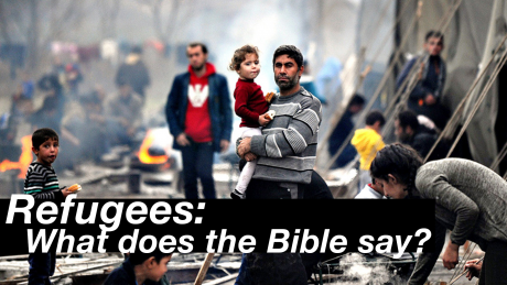 Cover Art for Refugees: What Does the Bible Say?